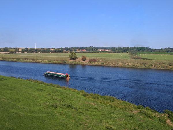 sailing,boat, trent