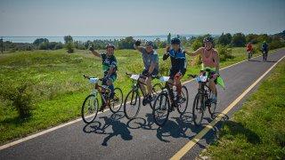 Tour de Balaton bicikliverseny Siófok