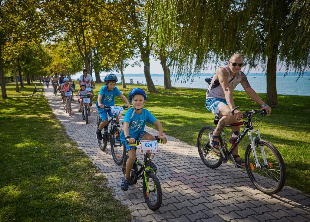 Tour de Balaton bringa verseny Siófok távok