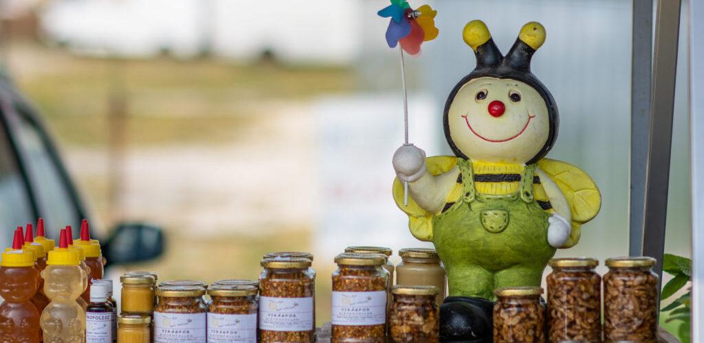 Fonyódi piac házi méz