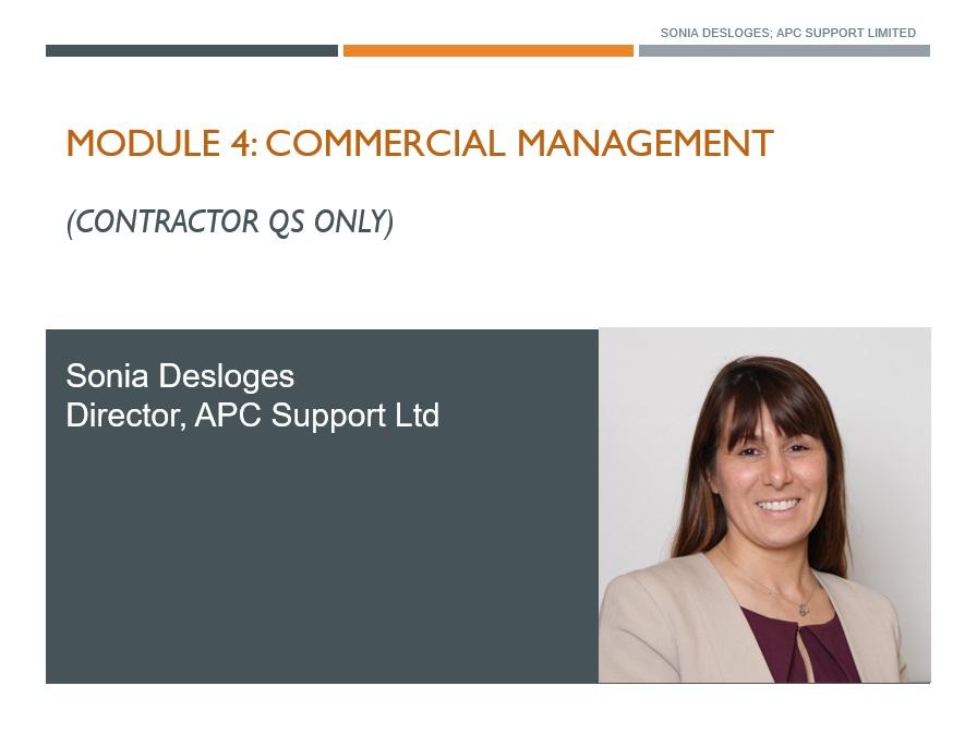 Commercial Management