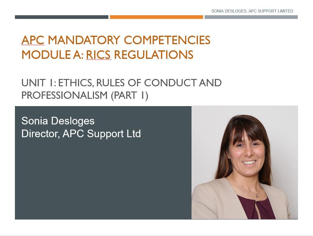 RICS ethics