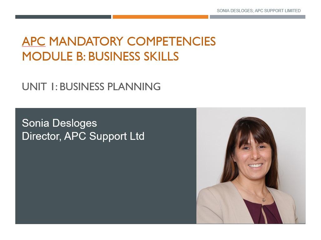APC Business Planning