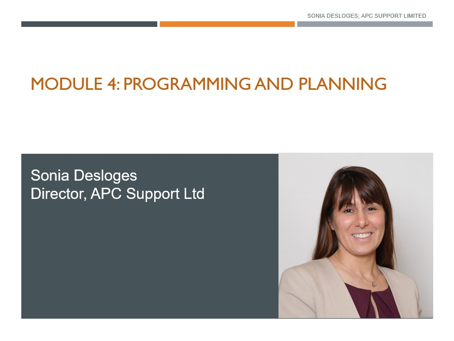 APC Planning and Programming