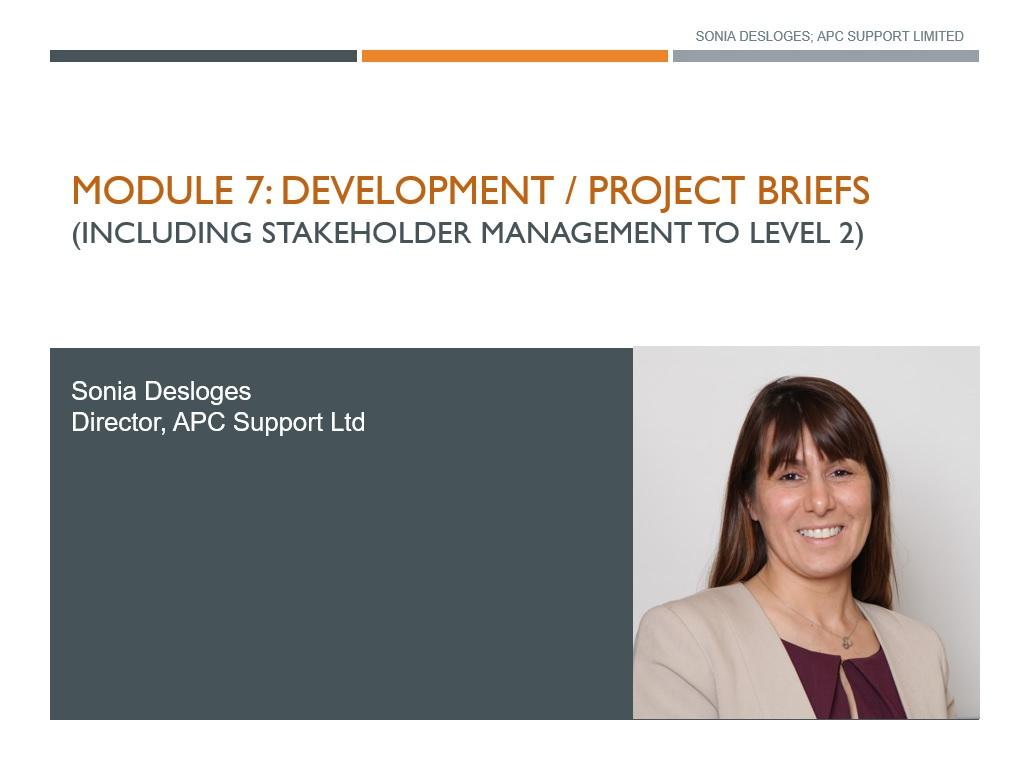 APC Revision Module: Development / Project Briefs