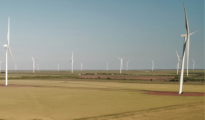 Lockett Wind Project in Wilbarger