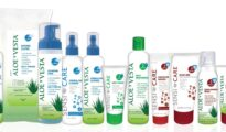 SensiCare and Aloe Vesta collection of skin care product lines