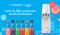 Pepsico to launch bubly drops for SodaStream