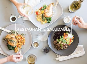 restaurante saludable