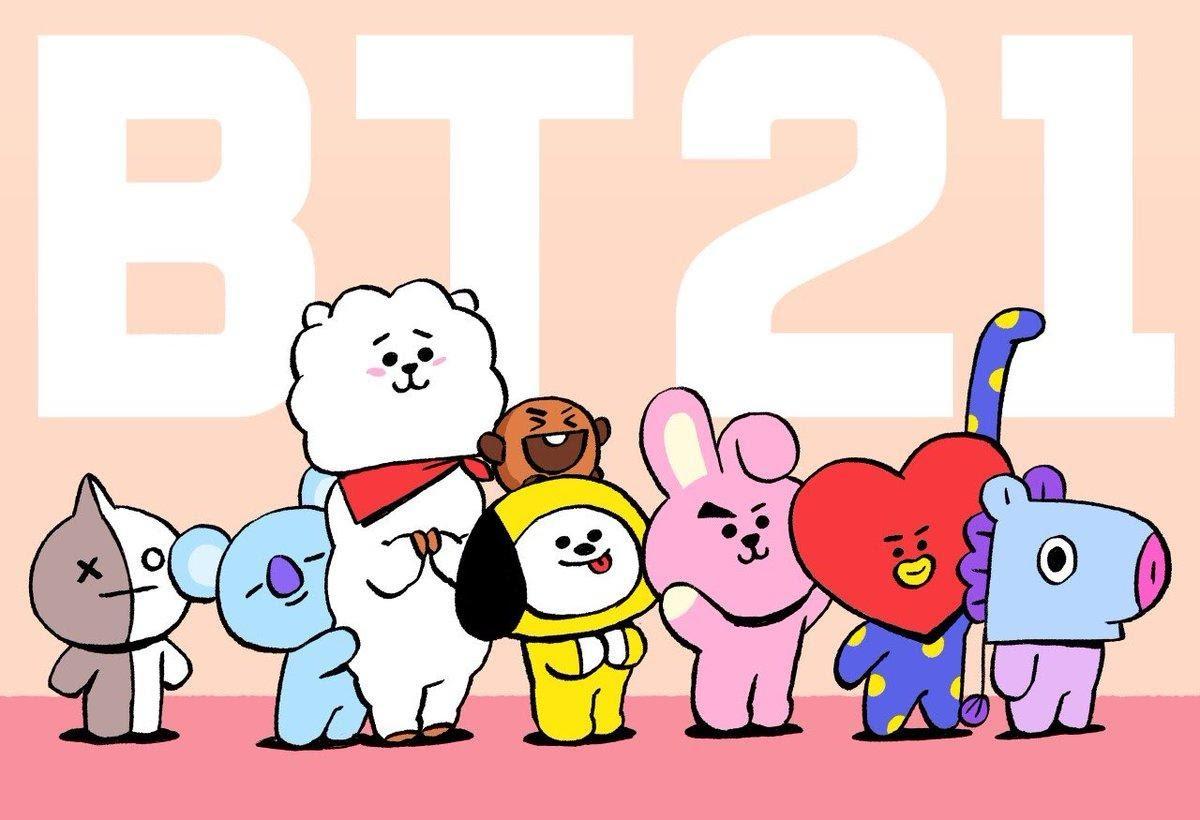 """กำเนิด """"BT21"""" คาแรกเตอร์แรงบันดาลใจจาก BTS"""