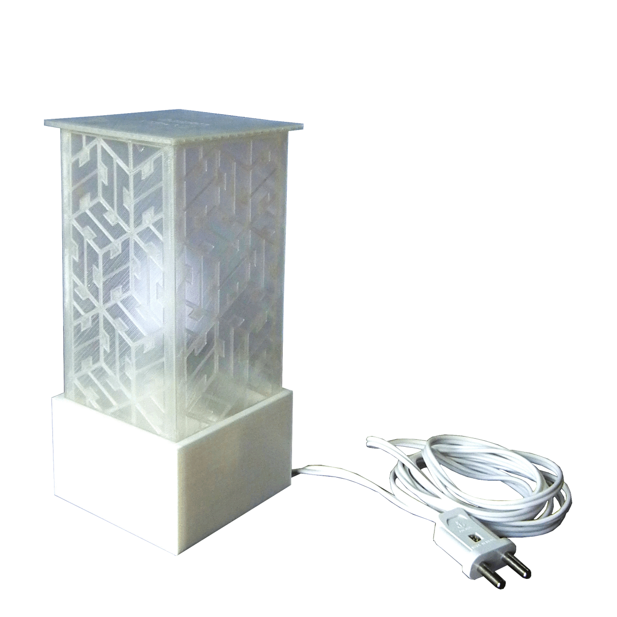 Lamp with wire