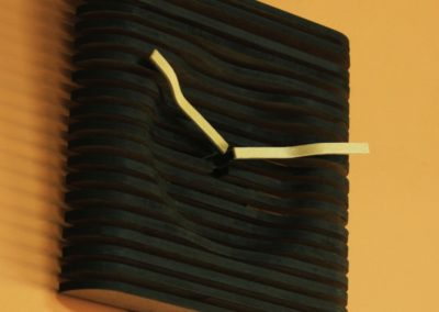 MDF Stacked Clock