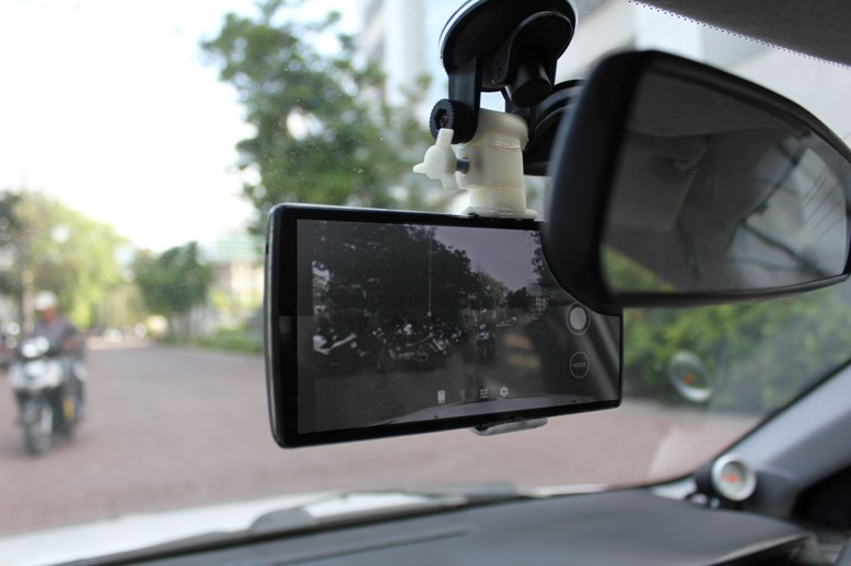 Mobile Dashcam Holder