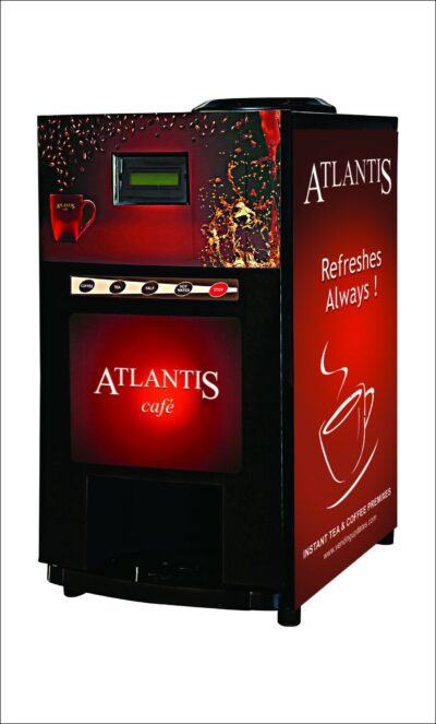 Atlantis Cafe Mini Tea and Coffee Vending Machine