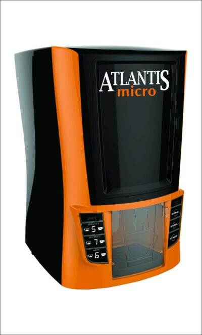 Atlantis Micro 2 Lane Hot Tea Coffee Vending Machine