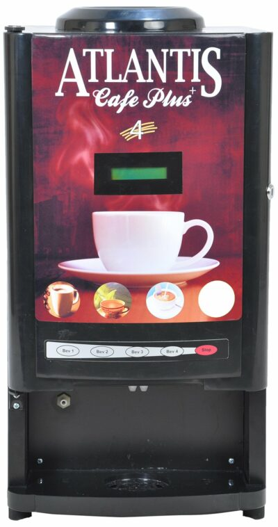 Atlantis Cafe Plus Three Option Tea Coffee Soup Vending Machines