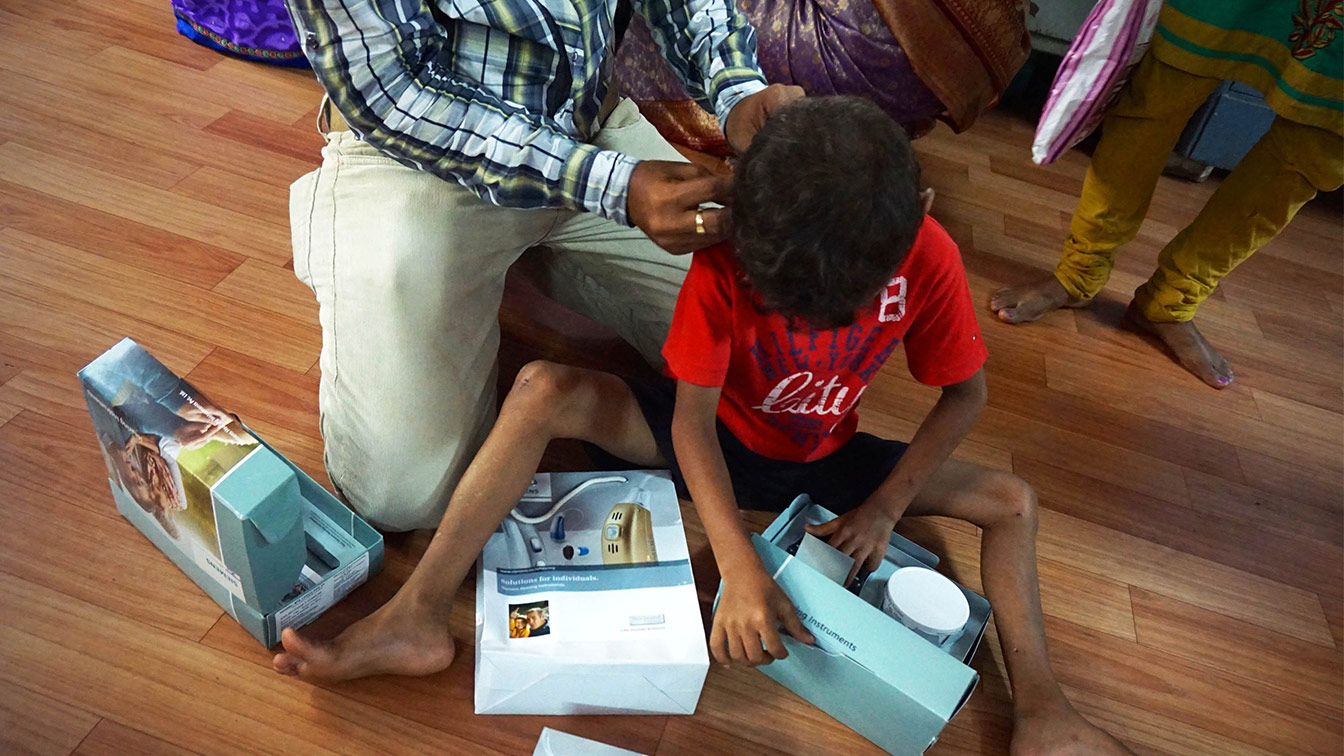 New Hearing Aids For Shakir And Shiva