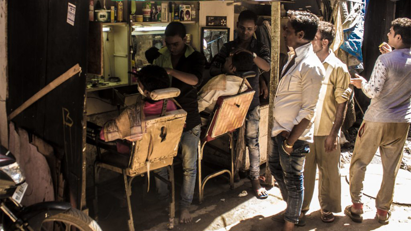 Working in Dharavi