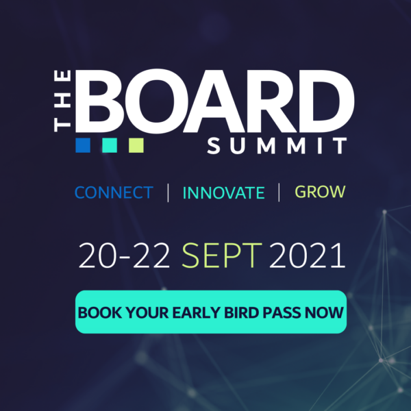 The Board Summit 2021, Book your Early Bird Pass Now
