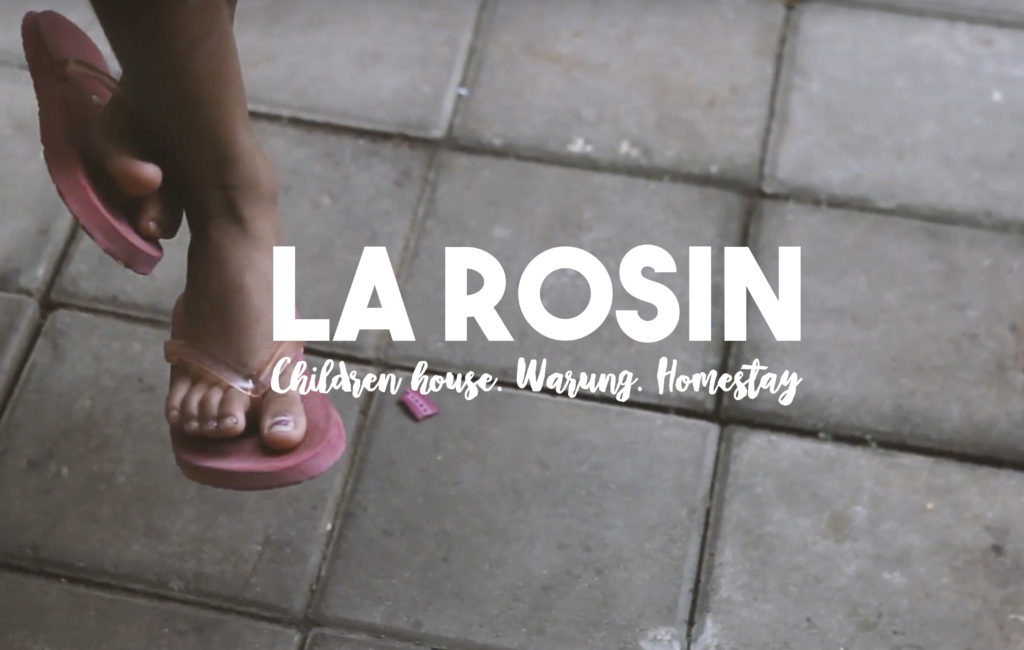 La Rosin. Children House. Homestay. Warung