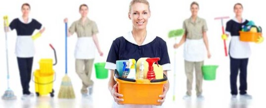Cleaning services post