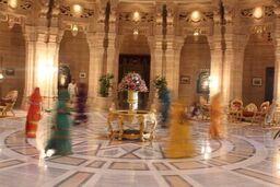 Indian dancing girls