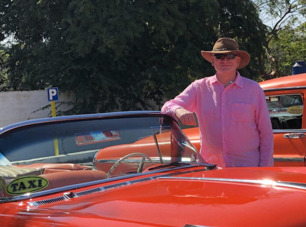Shows Alan Camrose in Cuba