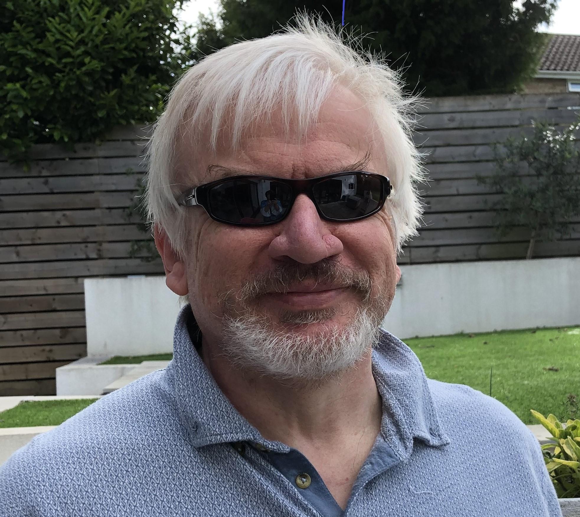 Alan Camrose with beard
