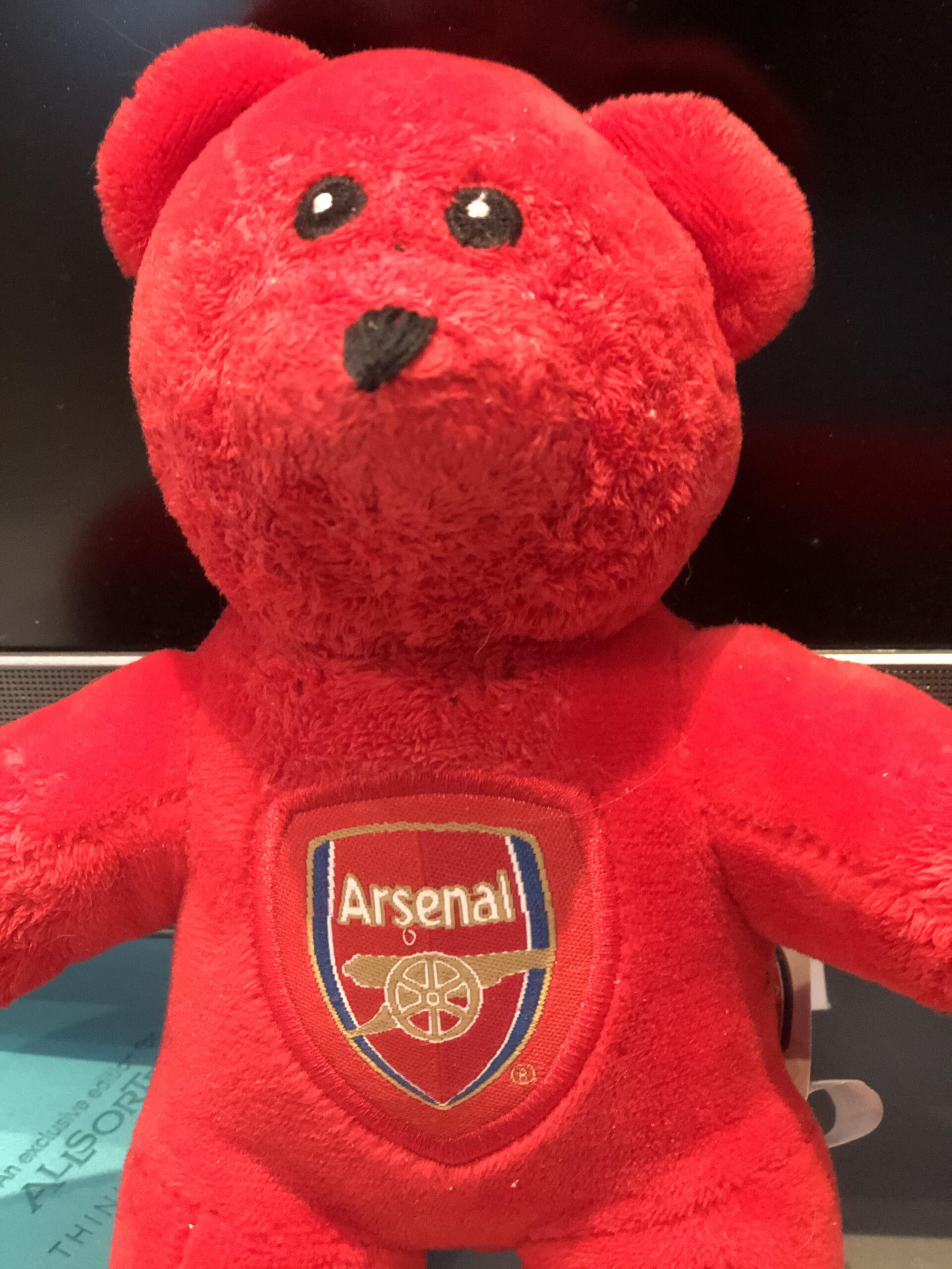 Arsenal Bear football cuddly teddy bear