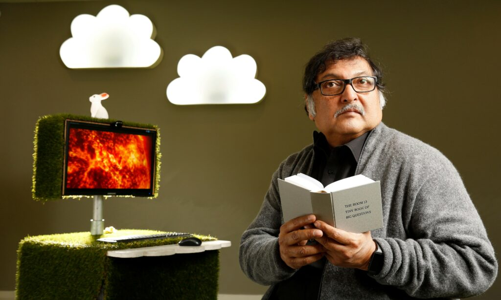 Sugata Mitra: the internet is capable of demonstrating how learning emerges.