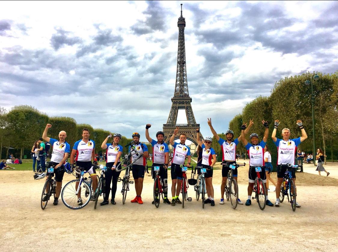 Team in Paris