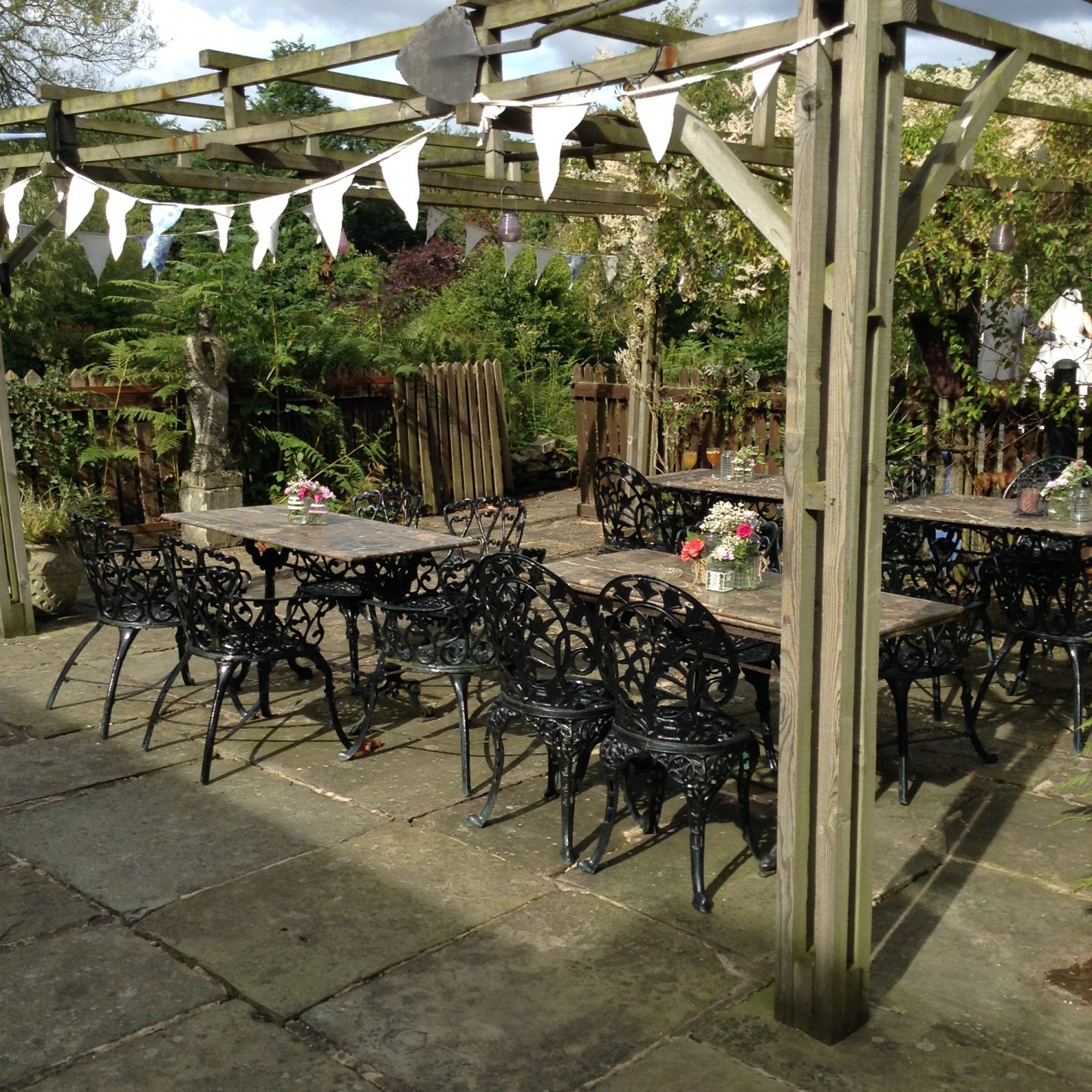 Tea Gardens at Heskin Hall Lancashirehire