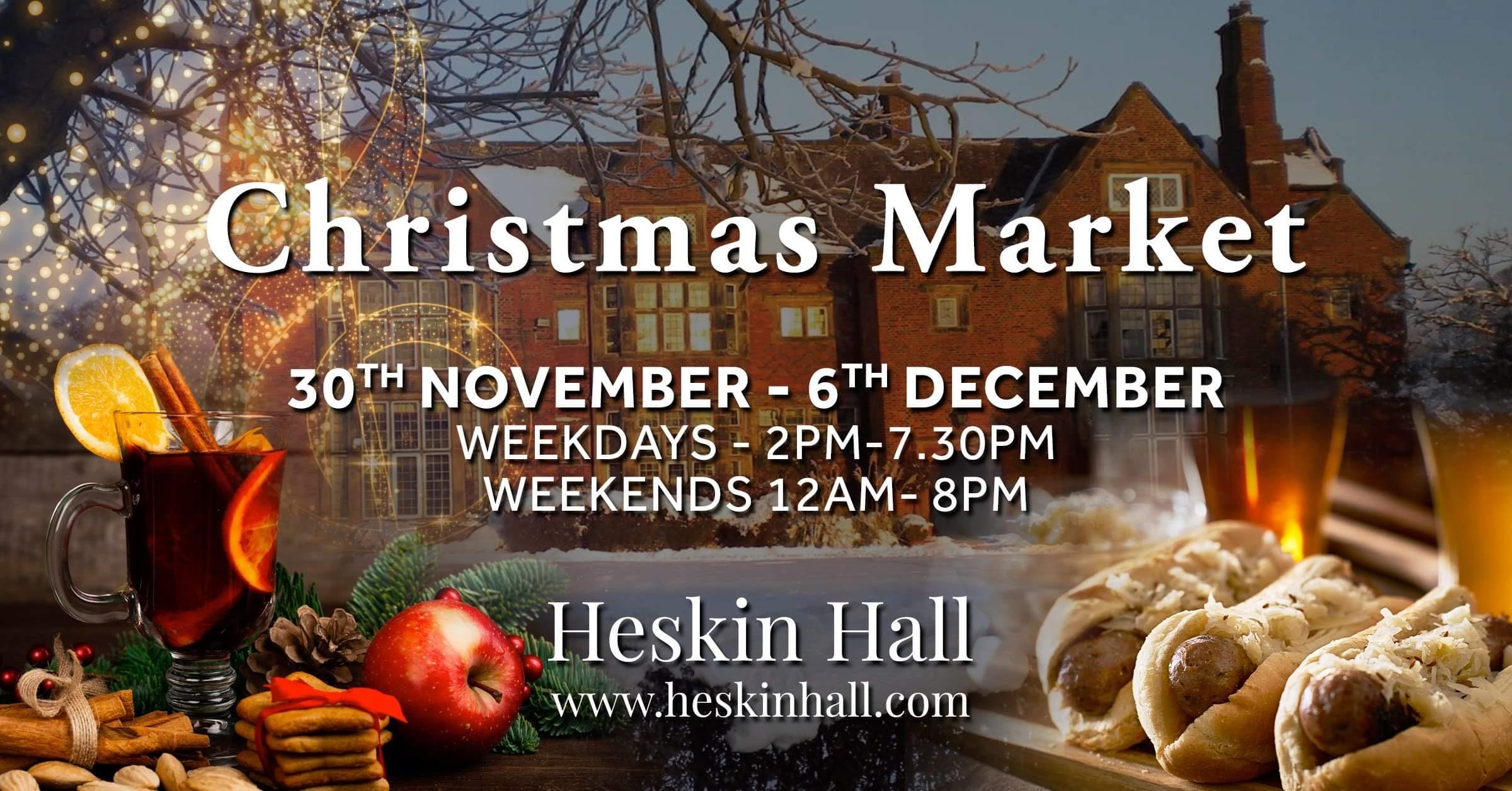 Christmas Market Heskin Hall