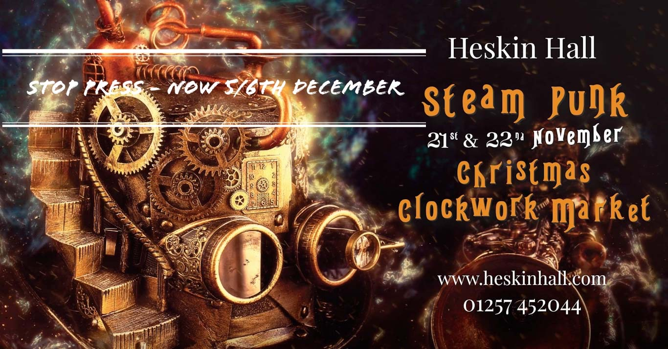 Steampunk Christmas market