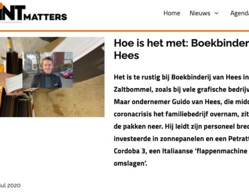 Van Hees in Printmatters