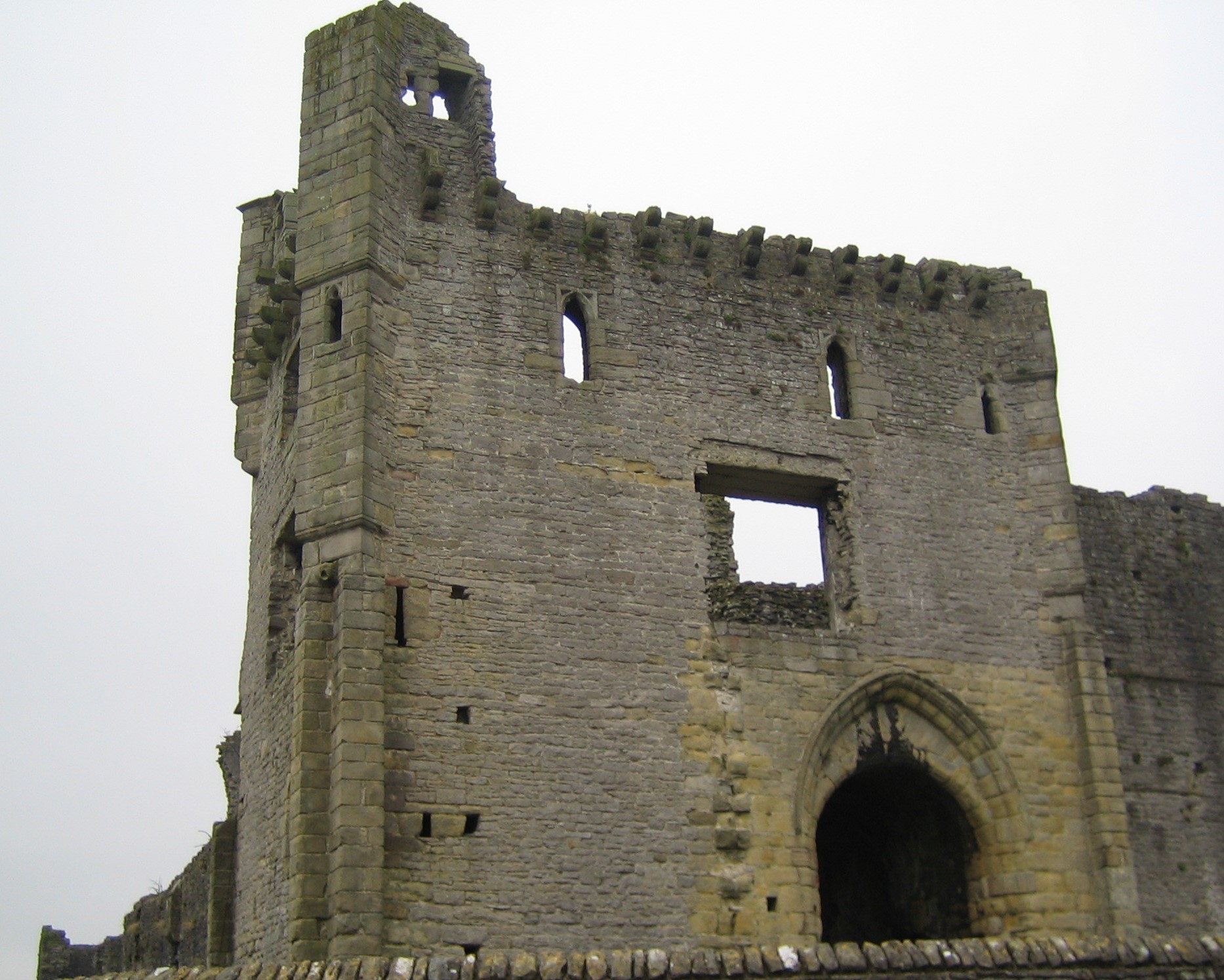 North East Tower of Middleham Castle