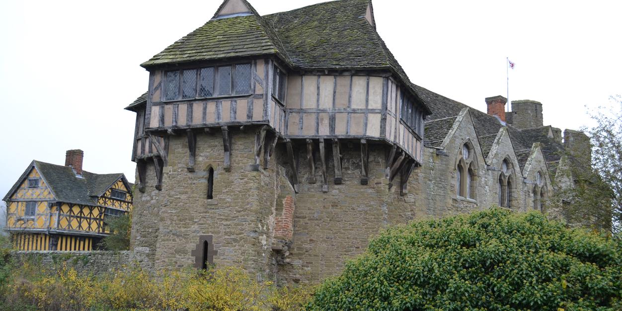 Stokesay Castle, near Ludlow