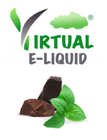 chocolate mint e juice shortfill