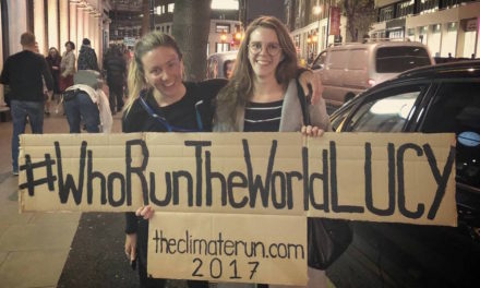 The Climate Run: Lucy Edward's 400km mission