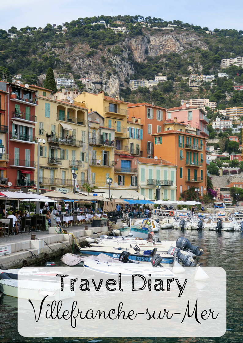 Villefranche-sur-Mer, Travel Diary & Blog by Rosie Andre (france, french riviera, nice, monaco, st tropez, holiday, wanderlust, holiday, summer, vacation, destination, honeymoon, photo, photography, day trip, guide, provence, cote d'azur, europe)
