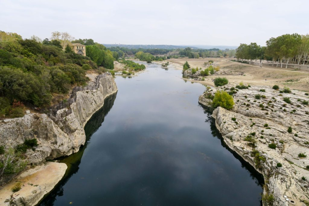 Pont du Gard, France. Travel Diary & Blog by Rosie Andre (photo, wanderlust, south of france, cote d'azur, french riviera, roman aqueduct, guide, to do, see, history, nimes, uzès, uzes, photography, visit)