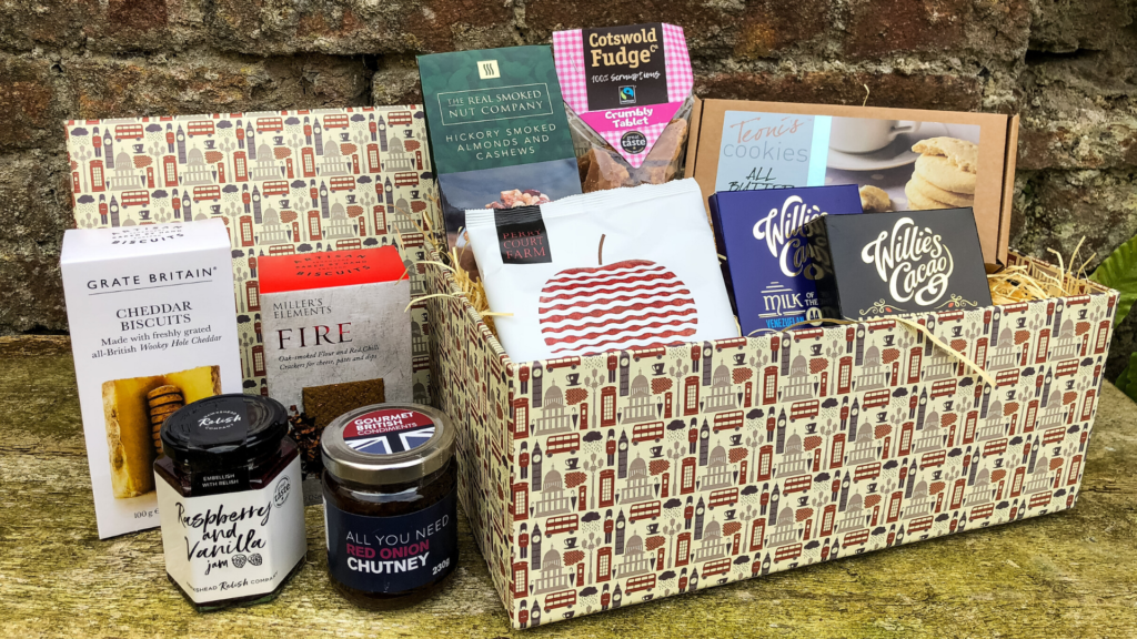 The British Hamper Company. Travel blog by Rosie Andre.