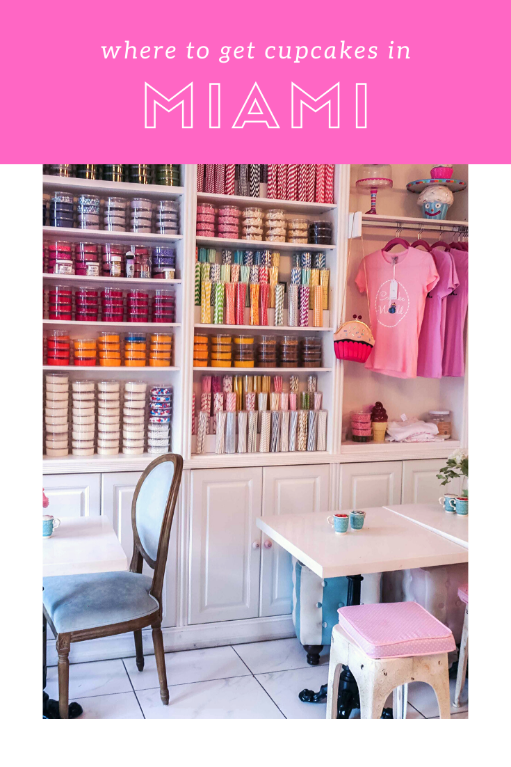 Rosie Andre - where to get cupcakes in Miami