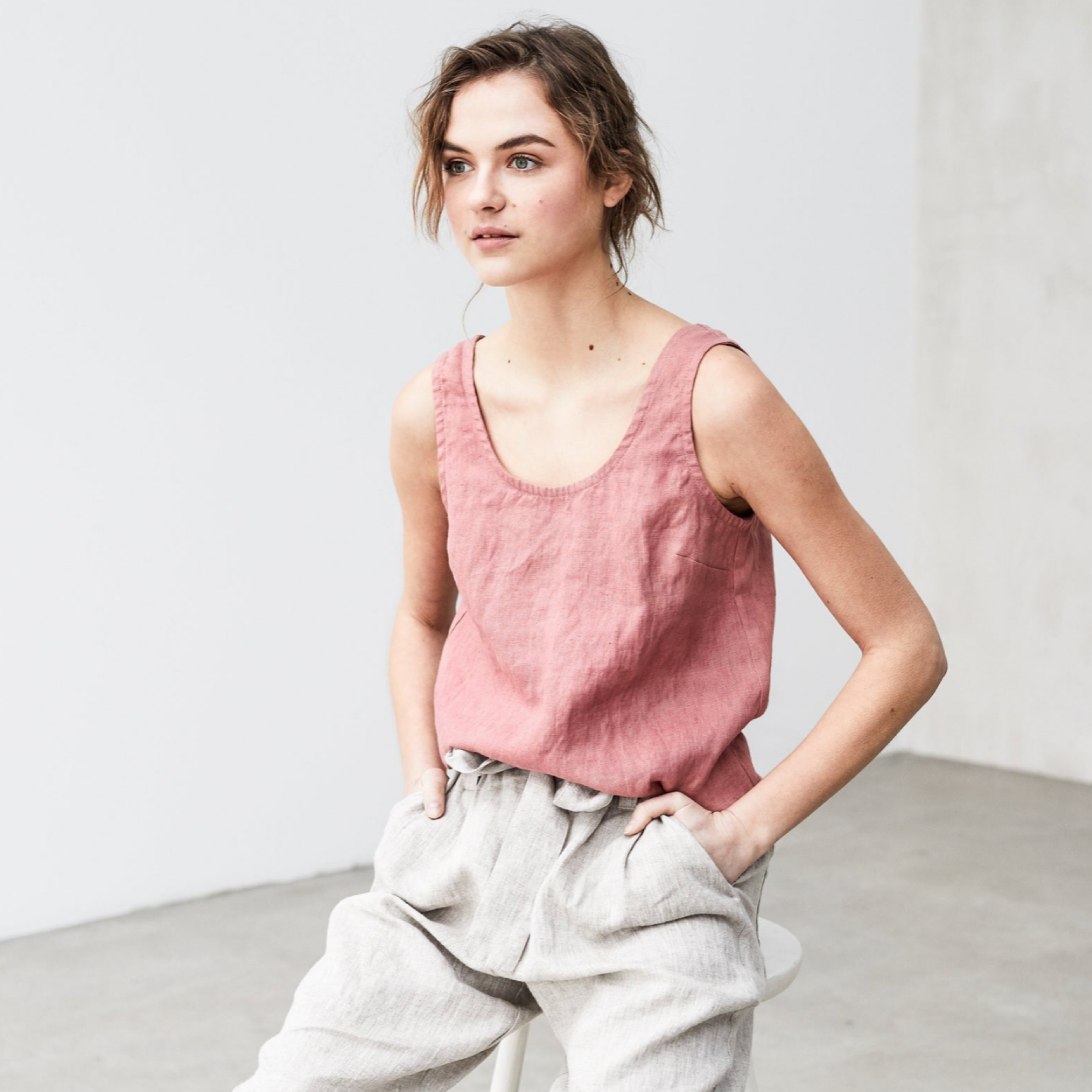 Rosie Andre - Not Perfect Linen (eco friendly fashion, sustainable fashion, fair trade fashion, eco conscious, eco friendly living, eco friendly products)