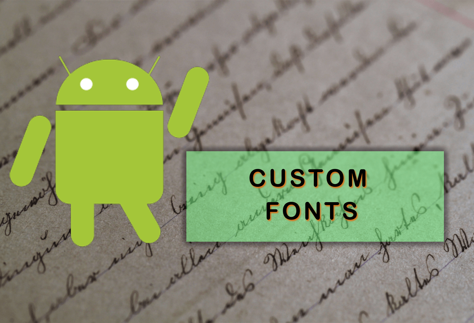 Android Custom Fonts