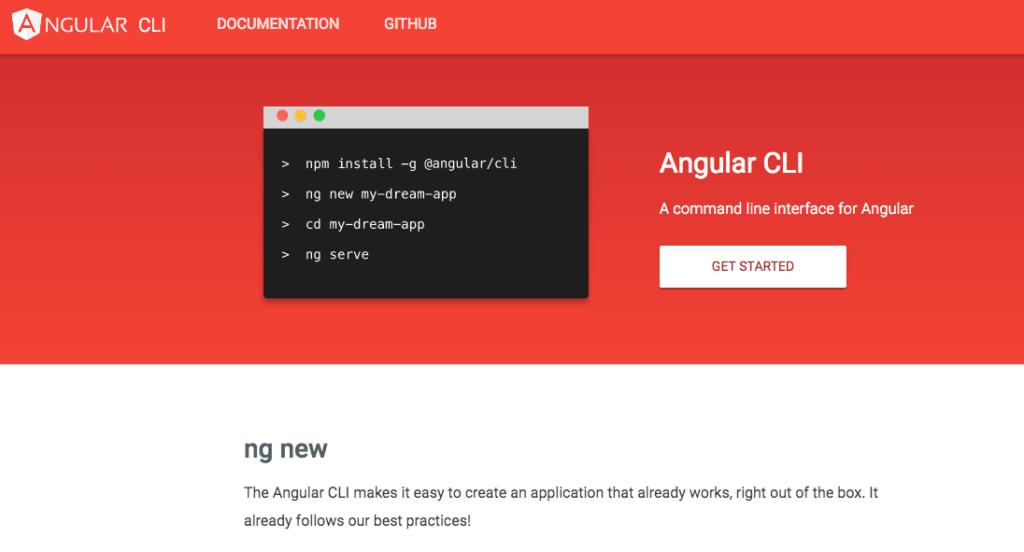Angular CLI