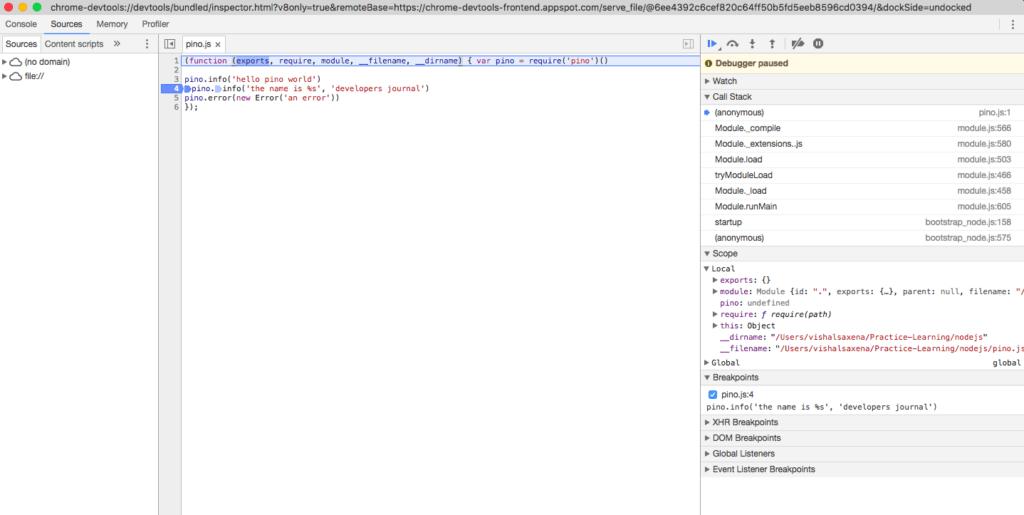 node-inspect-break-chrome-debugger