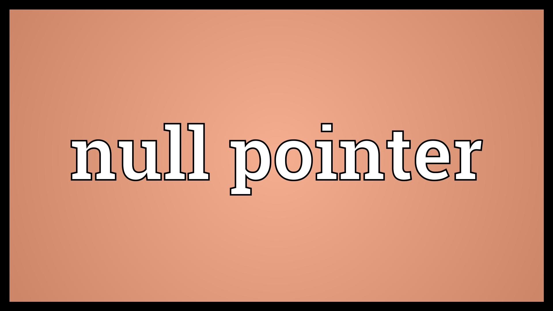 How to Handle Null Pointer Exception in Java