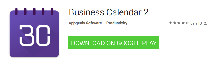 Android Business Calendar 2
