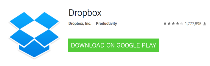 Android DropBox